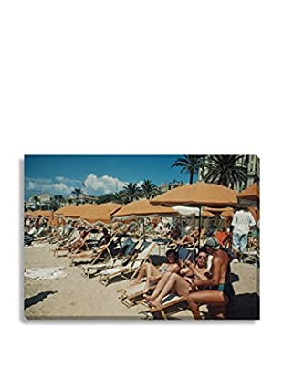 Photos.Com By Getty Images The Beach At Cannes By Ivan Dmitri On Canvas
