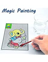 Magical Water Painting Pictures Drawing Paper Pens Mats Kids Children Development Learning Toys