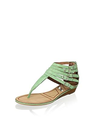 Matiko Women's Hannah Strappy Buckle Sandal (Peppermint)