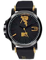 MTV Analog Multi-Colour Dial Men's Watch - B7015YL