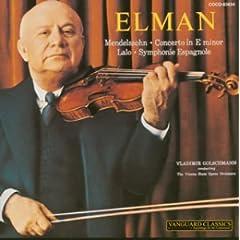 ミッシャ・エルマン(Vn)、ゴルシュマン指揮/ウィーン国立歌劇場 メンデルスゾーン:ヴァイオリン協奏曲&ラロ:スペイン交響曲のAmazonの商品頁を開く