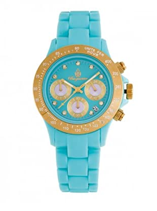 Burgmeister Damen-Uhren Chronograph Superleichtes Polycarbonat Florida BM514-033