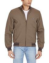 Arrow Sports Men's Round Neck Polyester Jacket