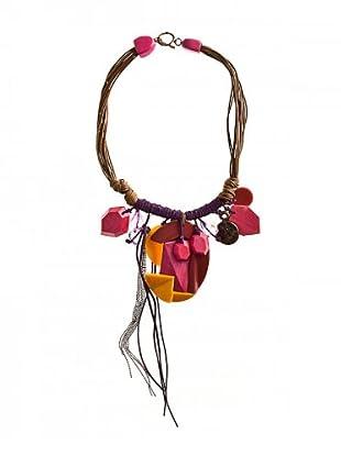 Custo Collar Rosa / Morado