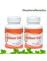 Morpheme Kohinoor Gold Plus Supplements for Low Libido and Improve Sex Drive 500mg Extract