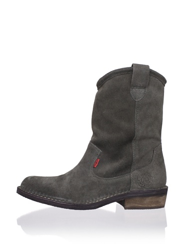 Kickers Kid's Starboot Short Boot (Big Kid) (Darkish Grey)