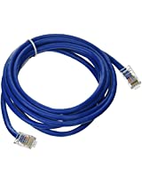 C2G / Cables to Go 24506 Cat5E Crossover Patch Cable , Blue (7 Feet/2.13 Meters)