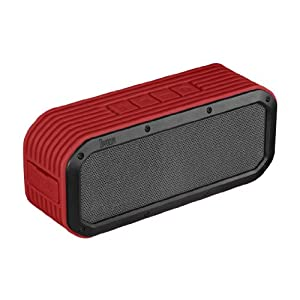 Divoom Voombox Outdoor Portable Outdoor Speakers (Red)