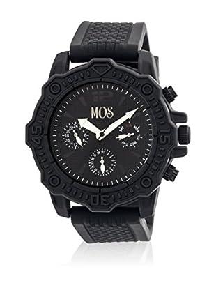 Mos Reloj con movimiento cuarzo japonés Mospg106 Negro 45  mm