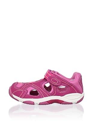 Stride Rite Kid's Baby Eve Sandal (Toddler) (Hot Pink/Azalea)