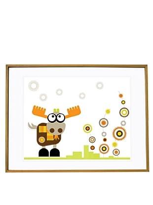 """Olli & Lime Little Billie Wall Art, 19.75"""" x 27.5"""""""