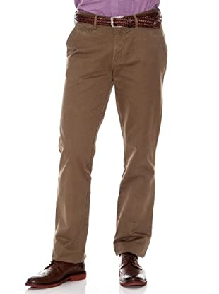 Cortefiel Pantalón Chino Regular (Marrón)