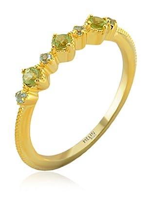 Melin Paris Ring Peridot & Blue Topaz