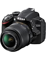 NikonD3200 Digital SLR Camera With AF-S DX NIKKOR 18-55mm 1:3.5-5.6G VR Lens (Black)