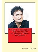Culegere De Intelepciune: Opere Complete De Aforisme Editie De Referinta
