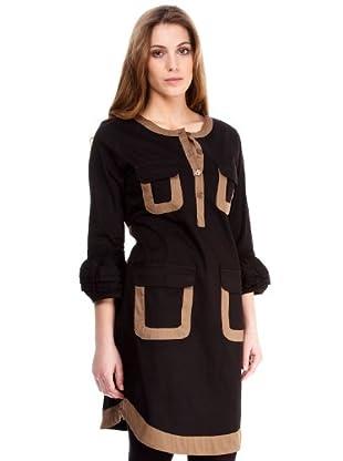 Almatrichi Vestido Helena (negro)