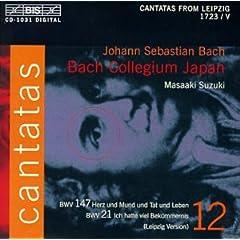 輸入盤CD 鈴木雅明/バッハ・コレギウム・ジャパン J.S.Bach:Cantatas Vol.12のAmazonの商品頁を開く