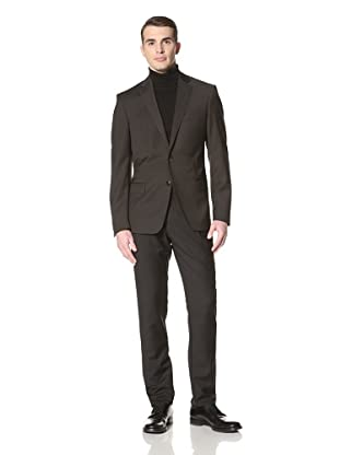 Versace Collection Men's Pindot Jacket (Black)