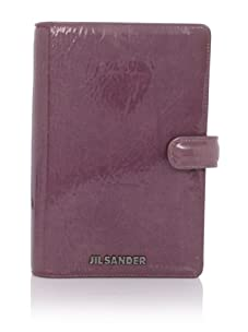 JIL SANDER Women's Patent Agenda Book (Lilac)