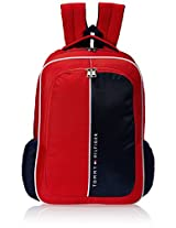 Tommy Hilfiger Marble Hill Polyester Red Children's Backpack (TH/BTS04MRH)