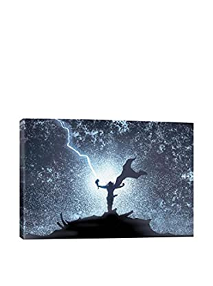 Marvel Comics Gallery Thor Silhouette Canvas Print