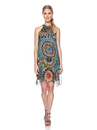 Magic Woman Vestido Flores (Multicolor)