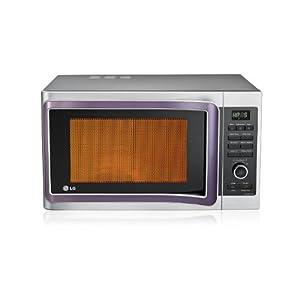 LG MC2881SUS 28 Litre 3100-Watt Convection Microwave Oven (Silver)