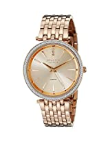 Johan Eric Women's JE-F1000-09-009B Fredericia Analog Display Quartz Gold Watch