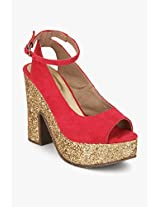 Pink Sandals Catwalk