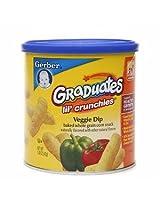 Gerber Graduates Lil Crunchies Veggie Dip 1.48 oz (42 g)