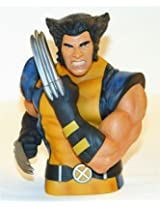 Marvel Wolverine Unmasked Bust Bank