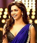 Deepika Padukone yeh jawani hai deewani blue Saree Celebrity Replica Saree