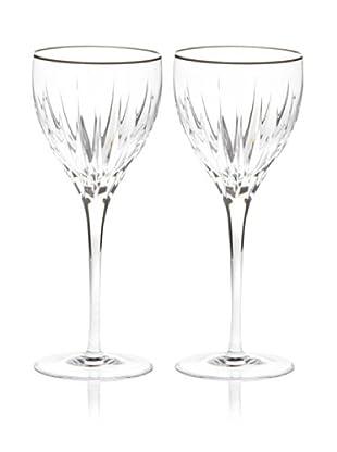 Miller Rogaska by Reed & Barton Set of 2 Soho Goblets