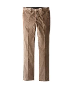 Calvin Klein Collection Men's Spike Corduroy Trousers (Teak Dark)
