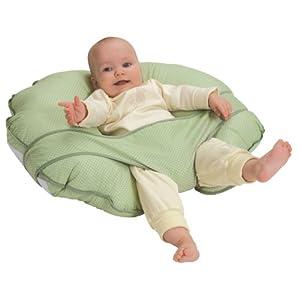 Leachco Cuddle-U Nursing Pillow and More Sage Pin Dot