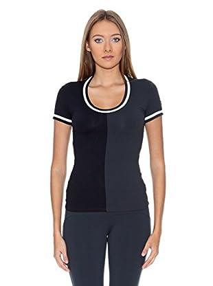 Naffta Camiseta Tenis / Padel (Negro / Gris)