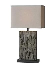 Bark Pattern Table Lamp