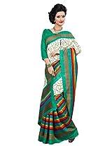 Riti Riwaz Beige saree with unstitched blouse VST7016B