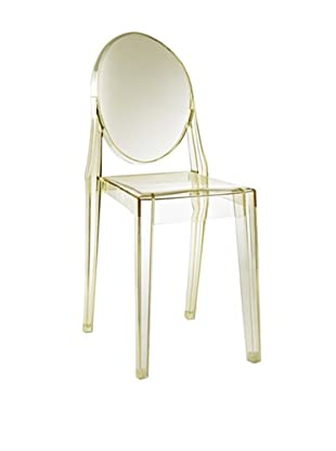 Modway Casper Dining Side Chair, Yellow