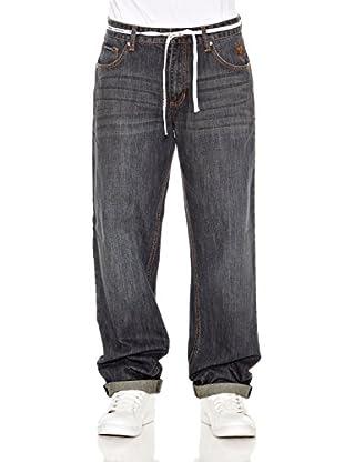 Grimey Wear Pantalón Denim Infamous (Azul Lavado)