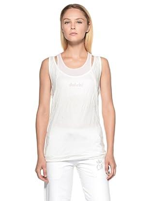 Datch Gym Camiseta Gunnar (Blanco / Rosa)