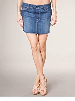 7 for all Mankind Jeansrock Josefina Adara Night (dunkelblau denim)