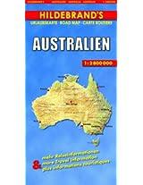 Hildebrand's Travel Map: Australia (Hildebrand's Australia maps)