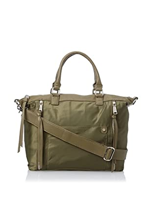 co-lab by Christopher Kon Women's Dee Satchel with Cross-Body, Olive, One Size