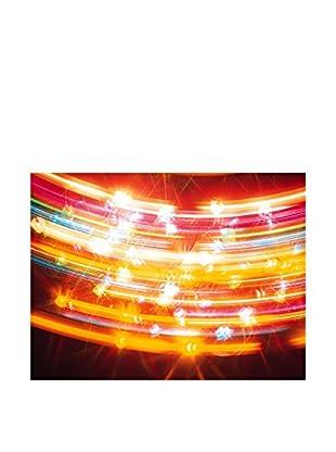 LegendArte Panel Decorativo Luminoso Colori Da Luna-Park 60X80 Cm multicolor