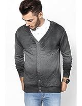 Light Grey Full Sleeve Cardigans