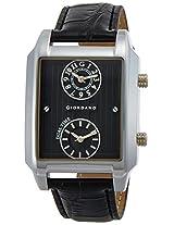 Giordano Analog Black Dial Men's Watch - 60059 (P10704)