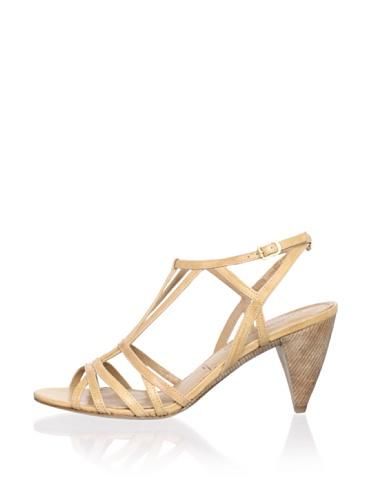 Sigerson Morrison Women's Vardon Ankle-Strap Sandal (Light Natural)