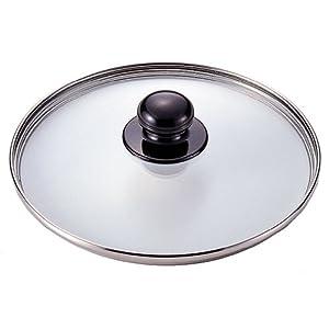 【クリックで詳細表示】ワンダーシェフ 【圧力鍋 トロー5L レギュラー4.5L・6L用】 強化ガラス蓋 21cm 600578: ホーム&キッチン