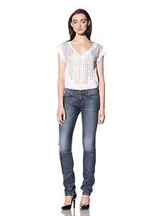 David Kahn Women's Nikki Straight Leg Jean (Athens)
